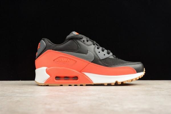 air max 90 orange noir,Nike Air Max 90 Noir Orange Grise